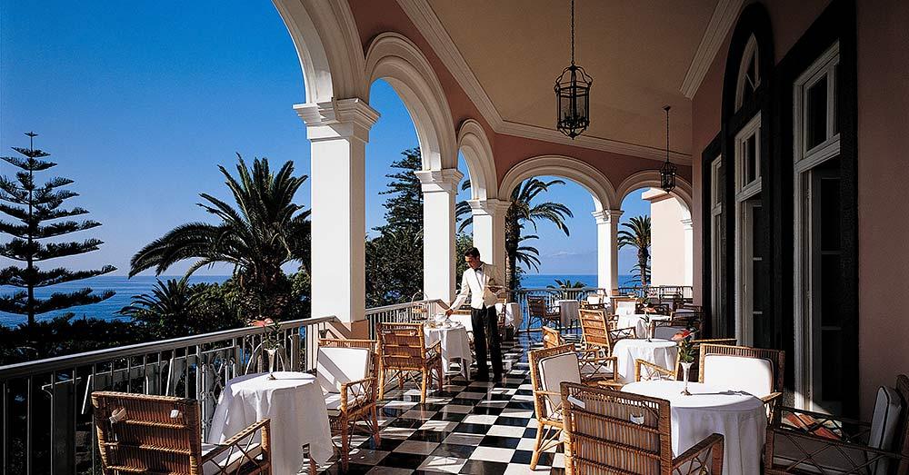 Restaurantes e bares no Belmond Reid's Palace