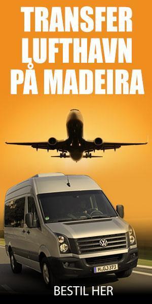 Lufthavnstransferservice på Madeira