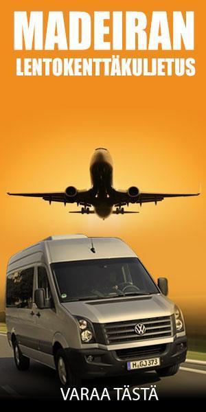 Lentokenttäkuljetus palvelu Madeiralla