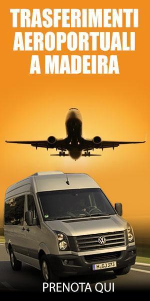 Servizio di transfer aeroportuali a Madeira