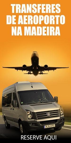 Serviço de transporte do aeroporto na Madeira