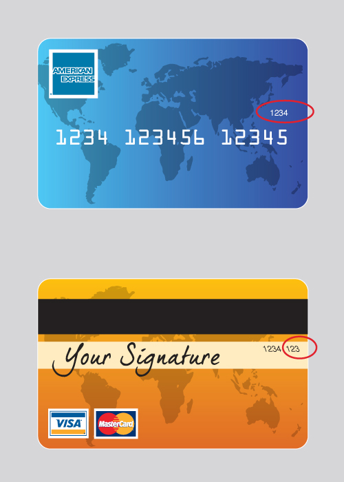 The Card Security Code Is A Unique Three Or Four Digit Number Printed On Your Debit Credit This Not Embossed And Hence